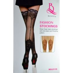 MEIA 7/8 ESTAMPA DE RENDA - FASHION STOCKINGS