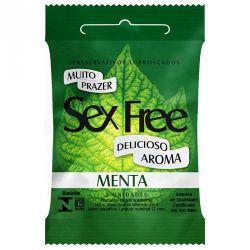 PRESERVATVO SEX FREE DIVERSOS AROMAS
