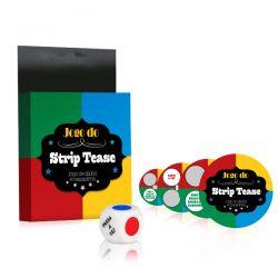 Jogo do Strip Tease - Com Dados e Raspadinha - Colorido