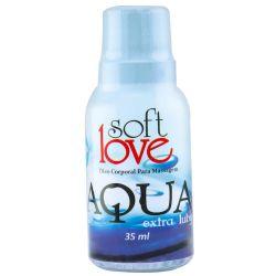 LUBRIFICANTE SILICONADO AQUA EXTRA LUBY 35ML SOFT LOVE