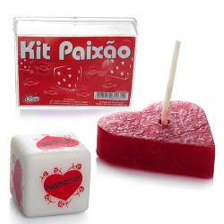Dados Cubos do Amor – Kit Paixão