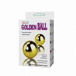 BOLAS DE POMPOARISMO COM VIBRADOR GOLDEN BALL - BAILE