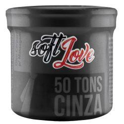 BOLINHA FUNCIONAL 50 TONS DE CINZA TRIBALL SOFT LOVE