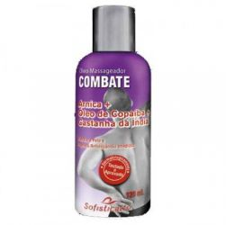 Óleo Massageador Combate 120ml Sofisticatto