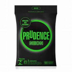 Preservativo Prudence Neon 3 Unidades