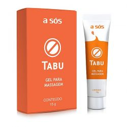 Gel Dessensibilizante Tabu - 15g - A SÓS