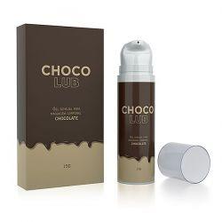 Gel Lubrificante Beijável Chocolub Sabor Chocolate - 15g - A SÓS