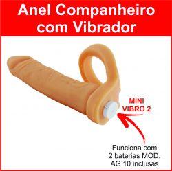 Anel Companheiro com vibrador 11,5 x 2,5cm