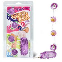 Bolinhas para Pompoarismo com Vibração - Quad Balls - Nanma