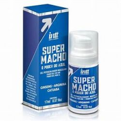 SUPER MACHO GEL 17ML - O PODER DO AZUL - INTT