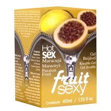 GEL COMESTÍVEL FRUIT SEXY - INTT