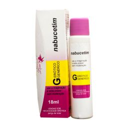 LUBRIFICANTE AROMÁTICO NABUCETIM 18ML SECRET LOVE
