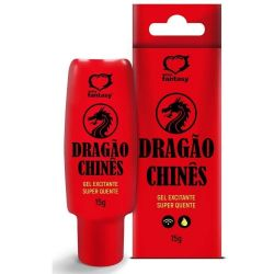 GEL EXCITANTE UNISSEX DRAGÃO CHINÊS 15G SEXY FANTASY