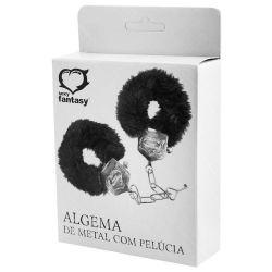 ALGEMA EM METAL COM PELÚCIA SEXY FANTASY