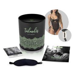 Kit Sensual Body Tailandês - Preto