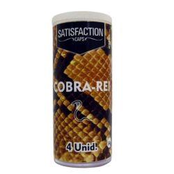 BOLINHAS FUNCIONAIS SATISFACTION C/4 UNID. IES - COBRA REI