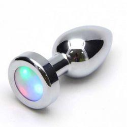 PLUG ANAL COM LUZ DE LED