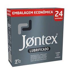Preservativo Jontex Lubrificado 24 Unidades