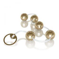 Conjunto Bolinha Tailandesa Metallic cor Dourada - 05 Esferas