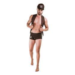 Fantasia masculina Policial Bandido