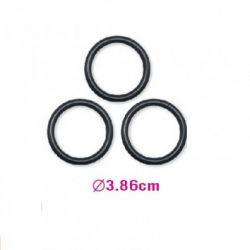 Conjunto Com 3 Anéis Silicone - Lovetoys